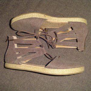 b.o.c. Lace Up Espadrilles Sandals 8M